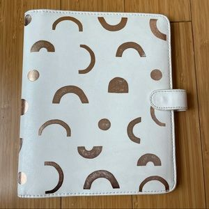 Kikki. K large leather planner with tab dividers